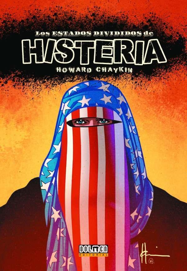 Comic Los Estados Divididos De Histeria