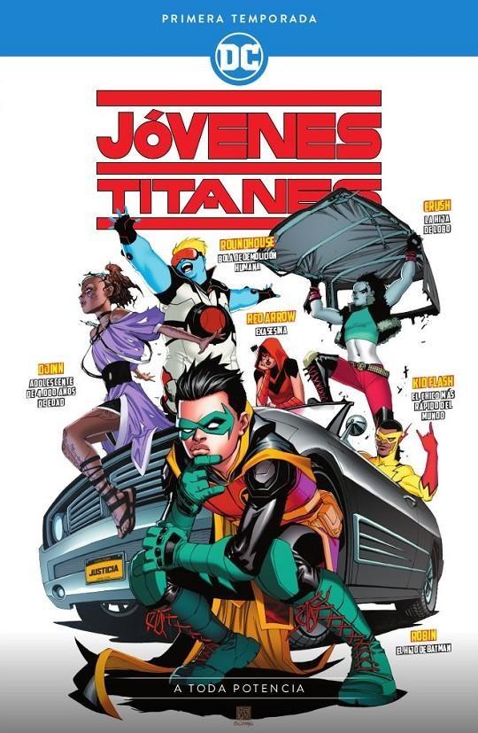 Comic Jóvenes Titanes: Primera Temporada – A Toda Potencia