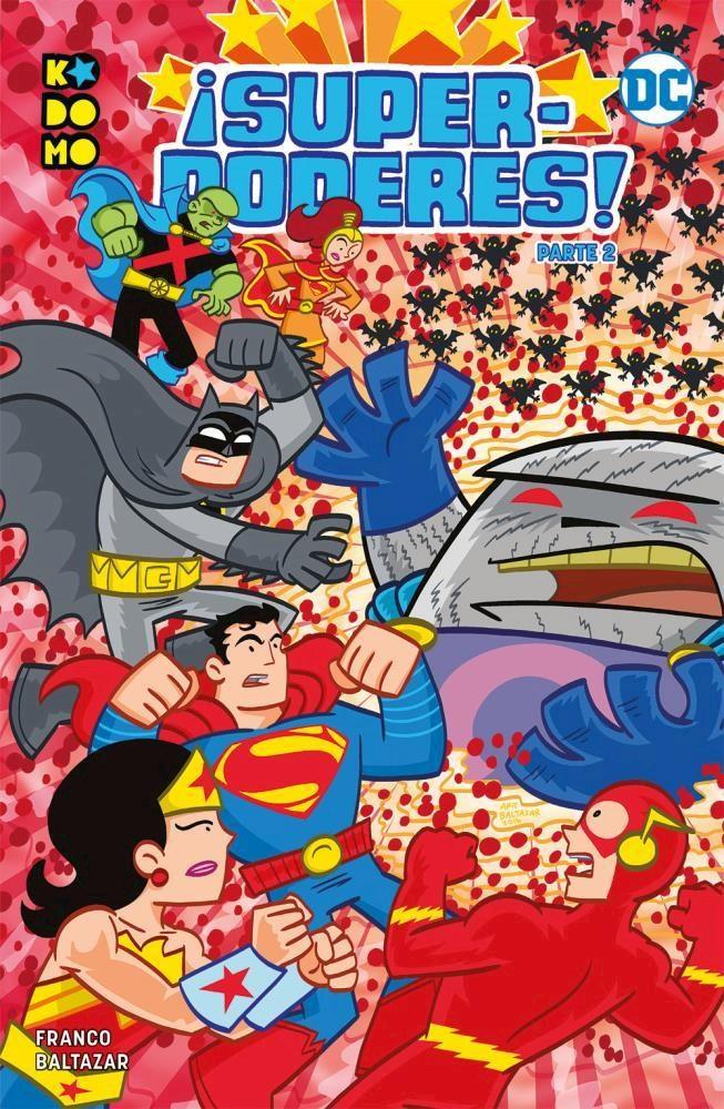 Comic ¡Superpoderes! Parte 2 (De 2)