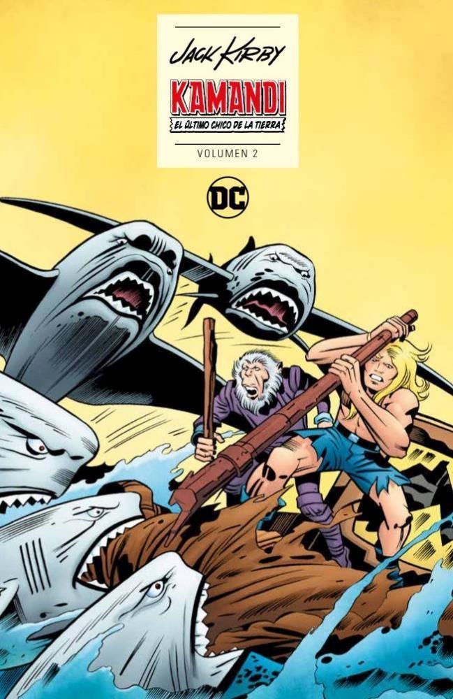 Comic Kamandi: El Último Chico De La Tierra Vol. 02 De 2