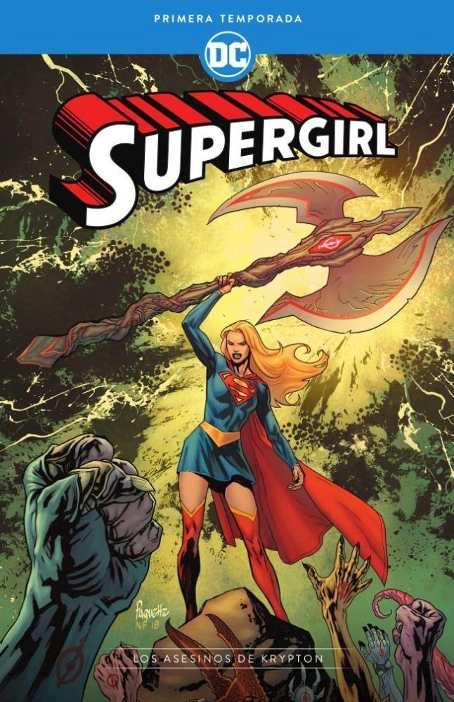 Comic Supergirl: Primera Temporada – Los Asesinos De Krypton