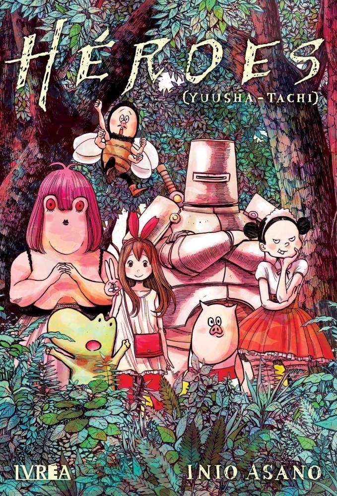 Manga Héroes (Tomo Único)