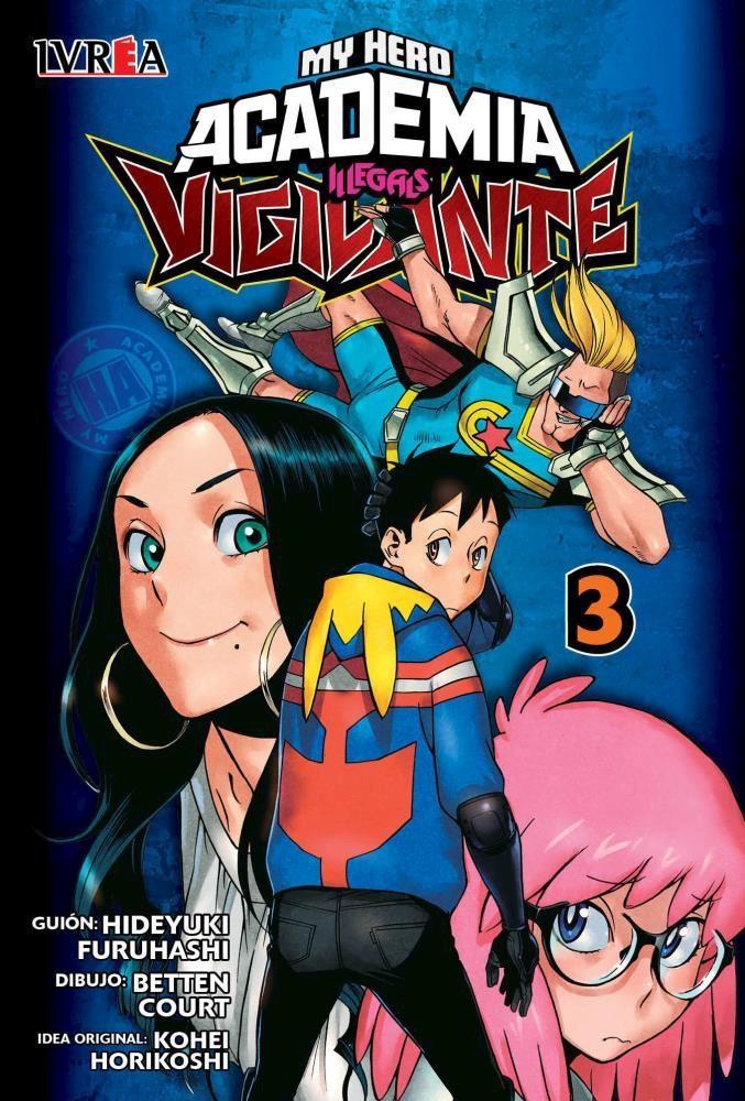 Manga Vigilante: My Hero Academia Illegals 03
