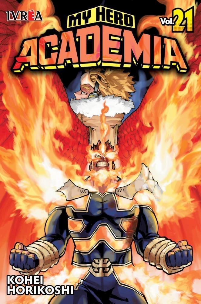 Manga My Hero Academia 21