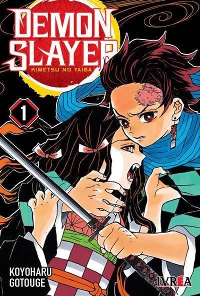 Manga Demon Slayer - Kimetsu No Yaiba 01 (Nueva Serie)
