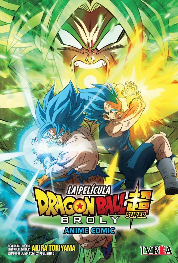 Comic Dragon Ball Super: Broly -Anime Comic-