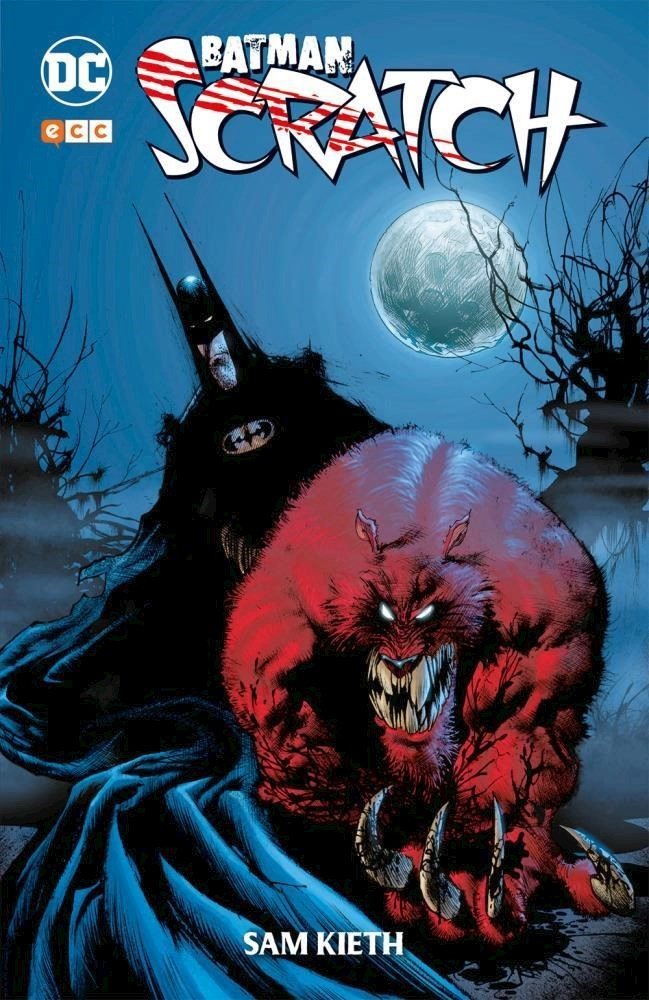 Comic Batman: Scratch
