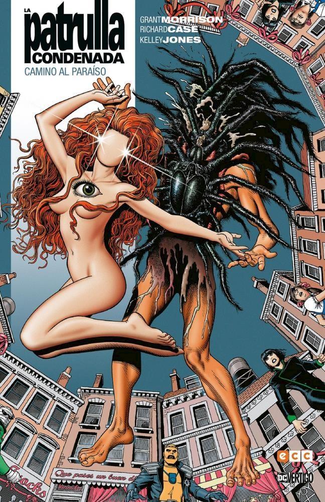 Comic La Patrulla Condenada Vol. 02 De 4 (Biblioteca Grant Morrison)