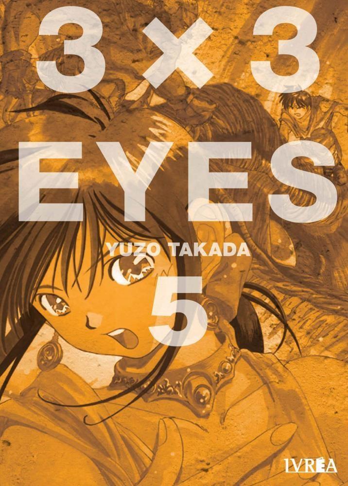 Manga 3 X 3 Eyes 05