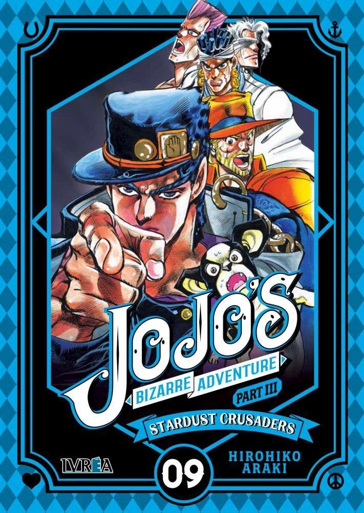 Manga Jojos Bizarre Adventure Part 3: Stardust Crusaders 09