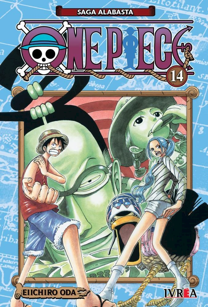 Manga One Piece 14