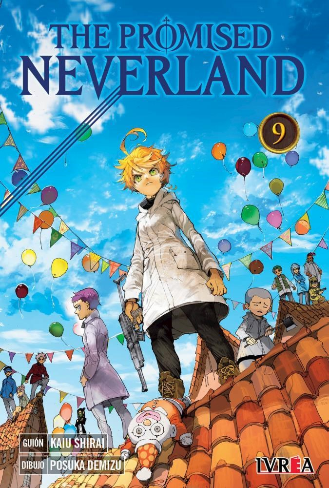 Manga The Promised Neverland 09
