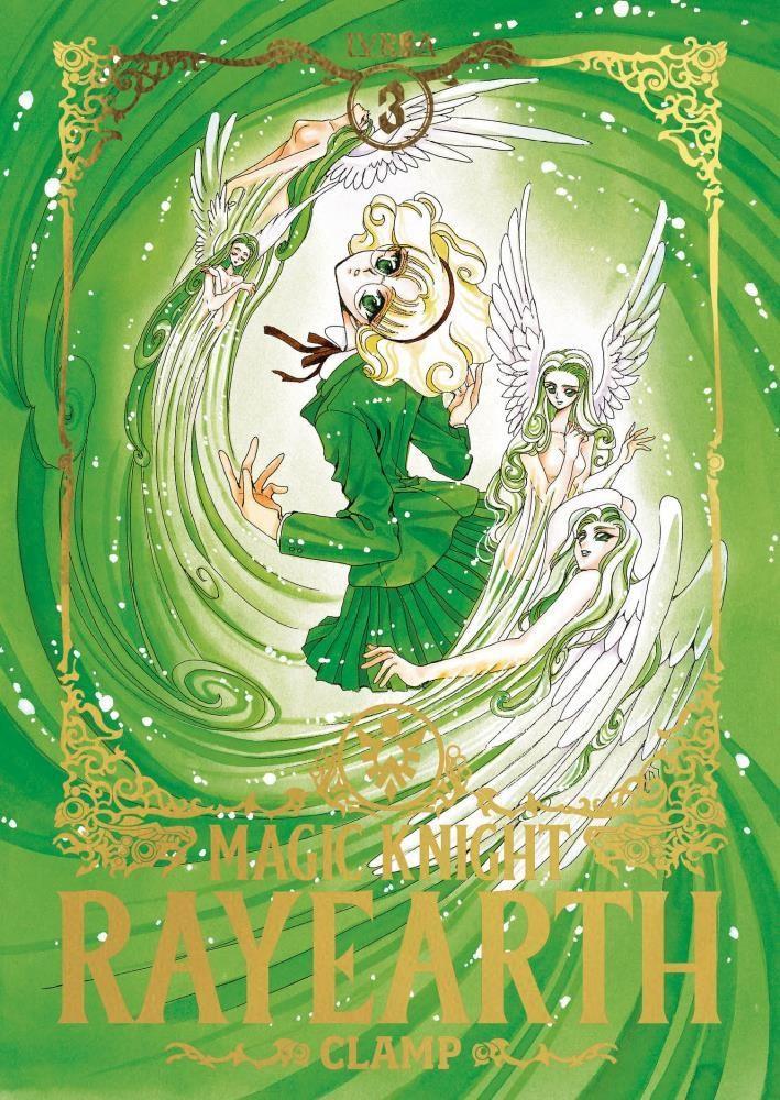 Manga Magic Knight Rayearth 03 (Final De Saga)