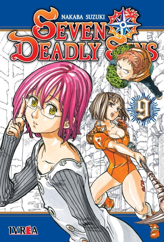 Manga Seven Deadly Sins 09