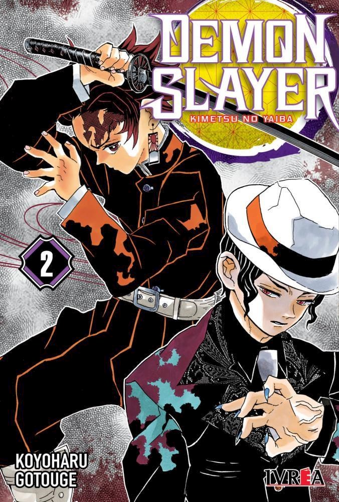 Manga Demon Slayer - Kimetsu No Yaiba 02