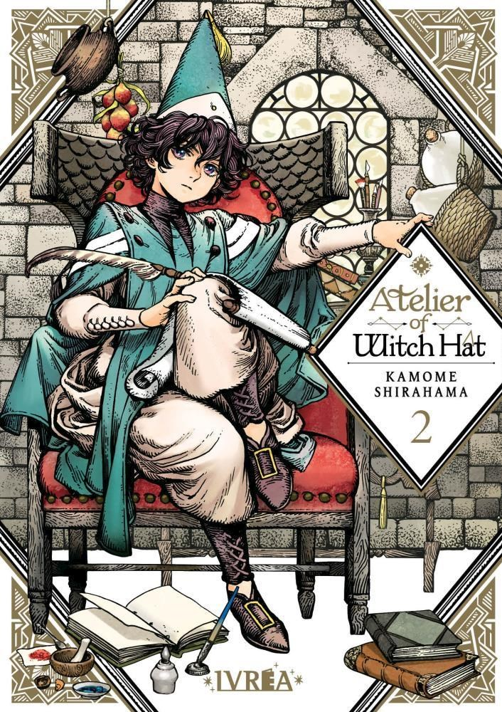 Comic Atelier Of Witch Hat 02