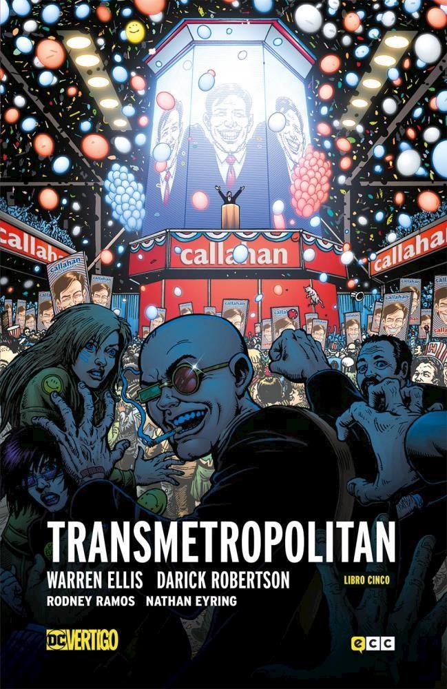 Comic Transmetropolitan Vol. 5 De 5