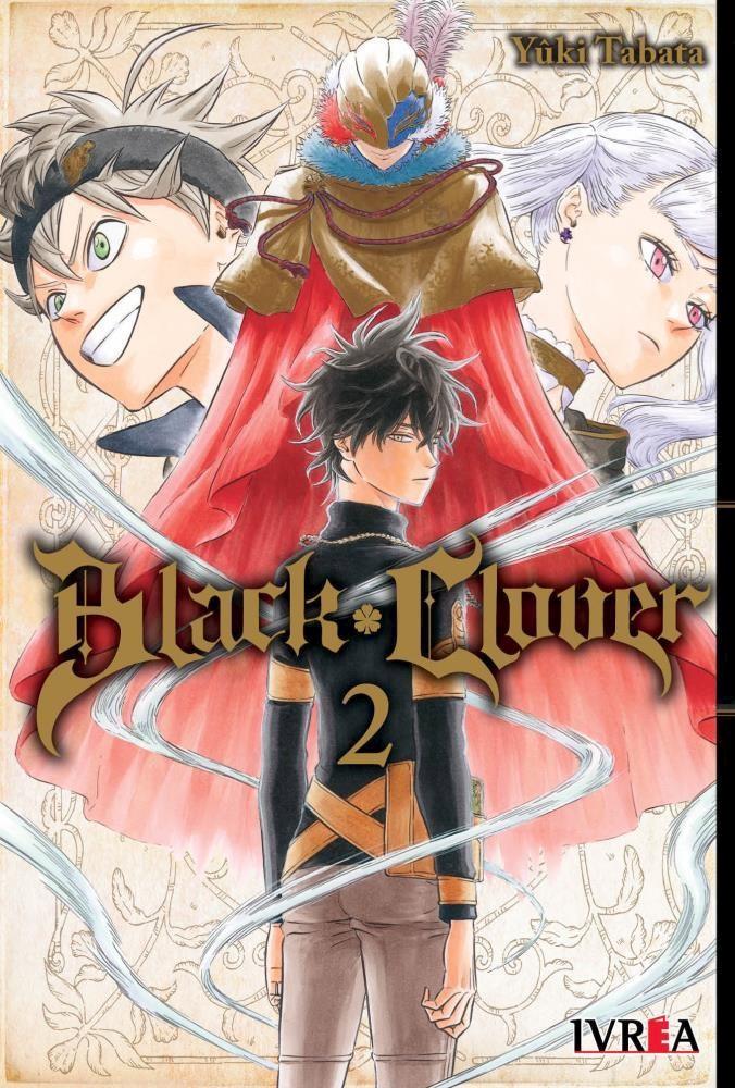 Manga Black Clover 02