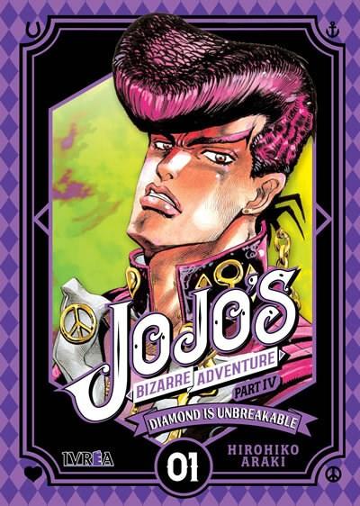 Manga Jojos Bizarre Adventure Parte 4: Diamond Is Unbreakable 01 (Nueva Saga)