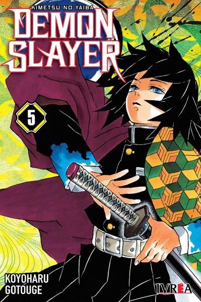 Manga Demon Slayer - Kimetsu No Yaiba 05