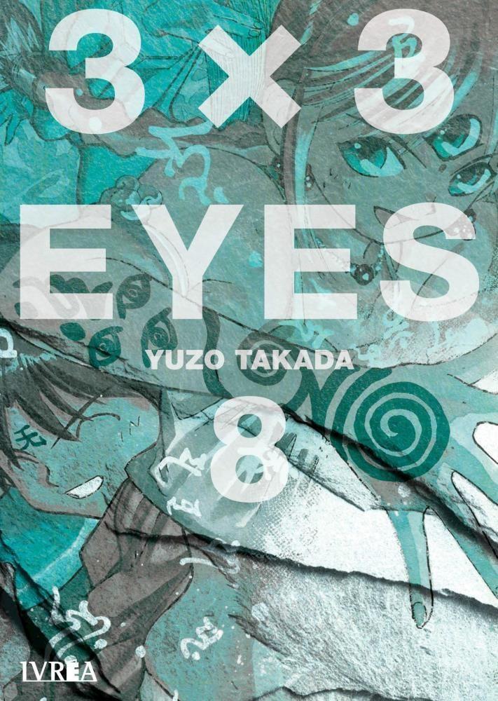 Manga 3 X 3 Eyes 08