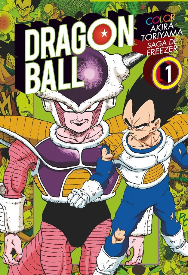 Manga Dragon Ball Color: Saga Freezer 01