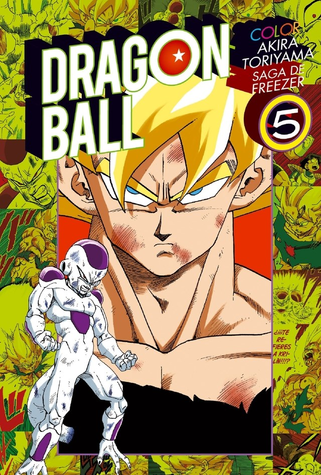 Manga Dragon Ball Color Saga Cell 05