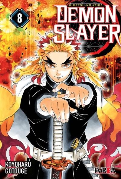 Manga Demon Slayer - Kimetsu No Yaiba 08
