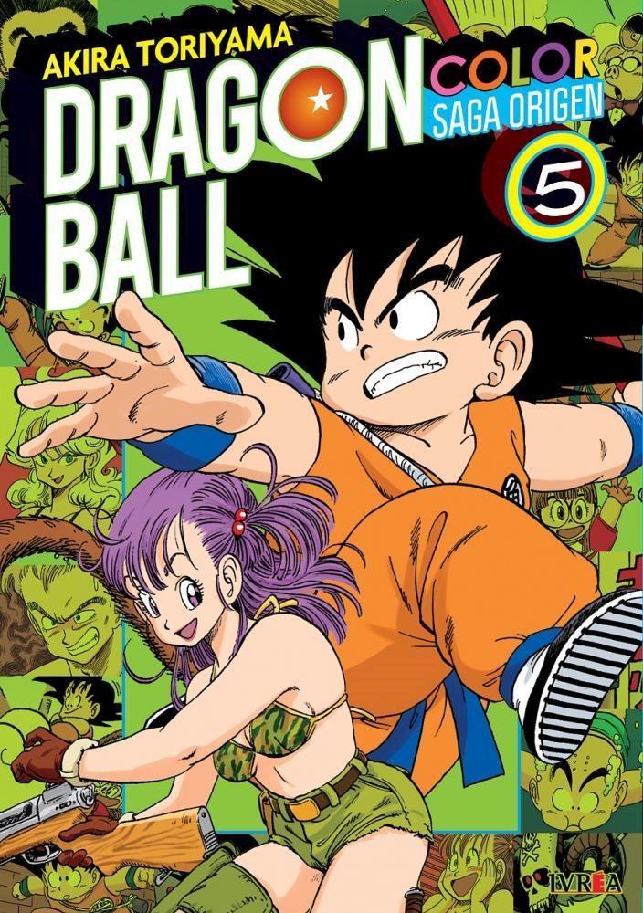 Manga Dragon Ball Color: Saga Origen 05