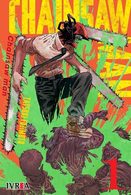 Manga Chainsaw Man 01 (Nueva Serie)