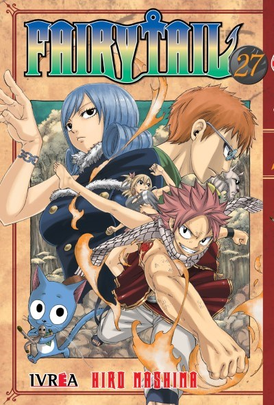Manga Fairy Tail 27