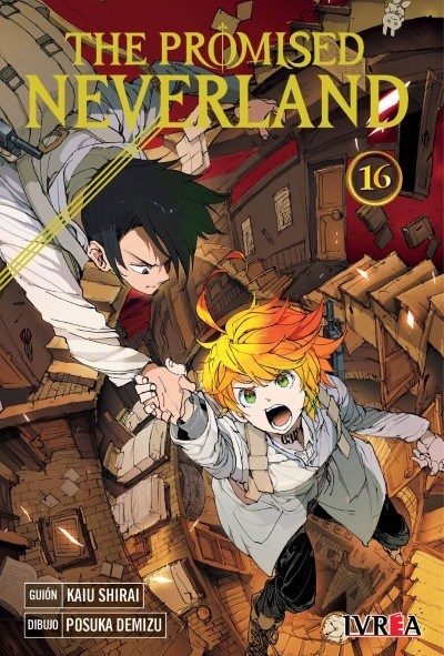 Manga The Promised Neverland 16