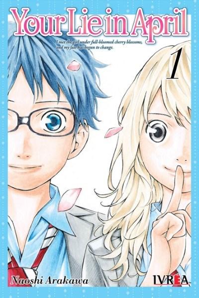 Manga Your Lie In April 01 (Nueva Serie)