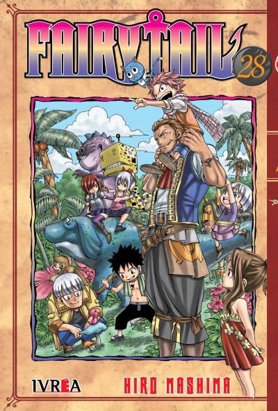 Manga Fairy Tail 28