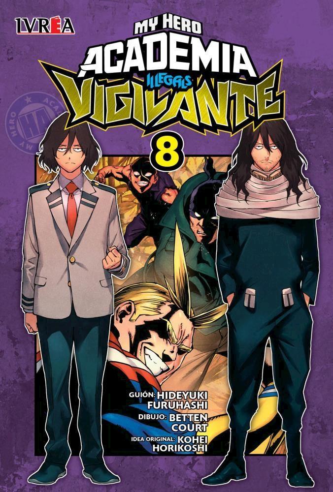 Manga Vigilante: My Hero Academia Illegals 08