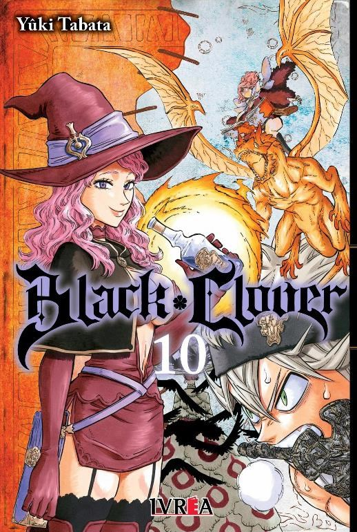 Manga Black Clover 10