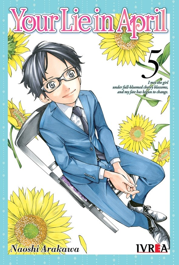 Manga Your Lie In April 05