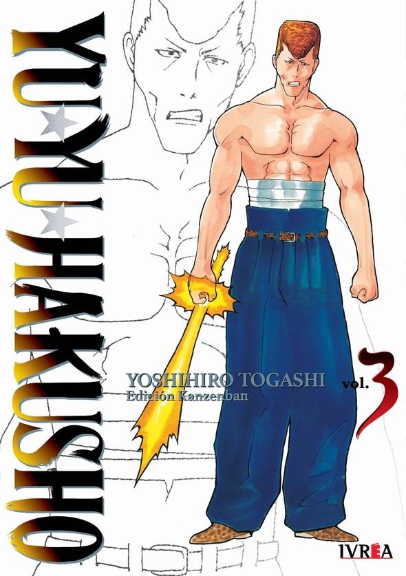 Manga Yu Yu Hakusho Ed. Kanzenban 03