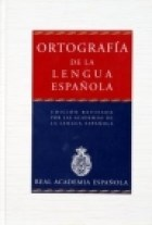 Papel Ortografia De La Lengua Espa?Ola