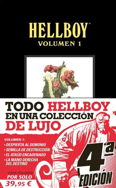 Comic Hellboy. Edición Integral Vol. 01