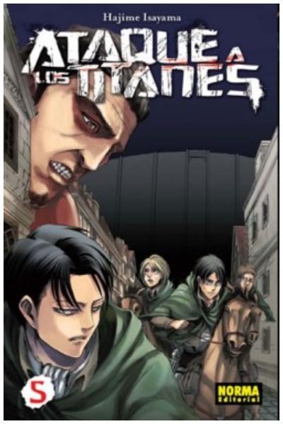 Manga Ataque A Los Titanes 05 (Ed. Española)