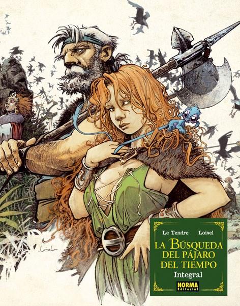 Comic La Busqueda Del Pajaro Del Tiempo Vol Integra