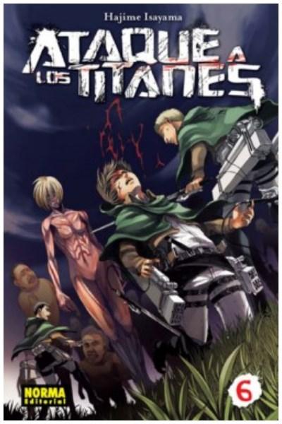 Manga Ataque A Los Titanes 06 (Ed. Española)