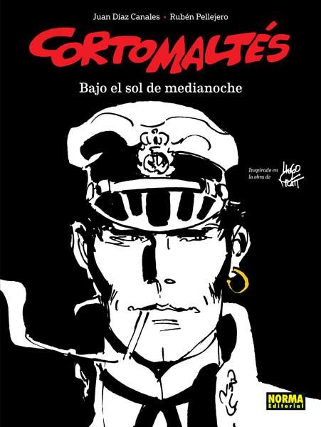 Comic Corto Maltes Bajo El Sol De Medianoche Bn