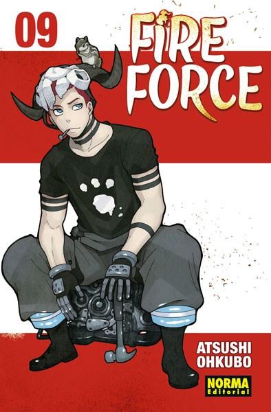 Manga Fire Force 09