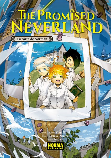 Libro The Promised Neverland:La Carta De Norman Novela