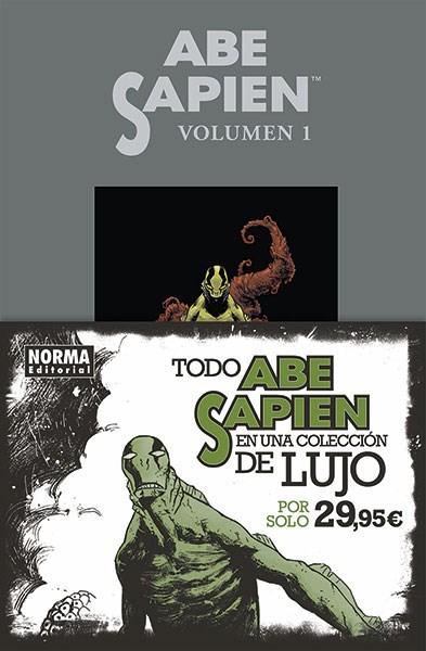 Comic Abe Sapien. Integral 1