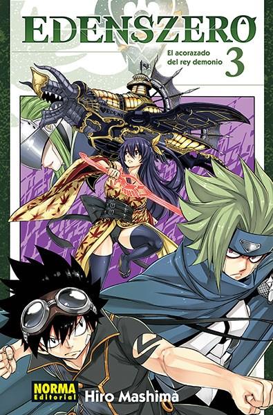 Manga Edens Zero 3. El Acorazado Del Rey Demonio