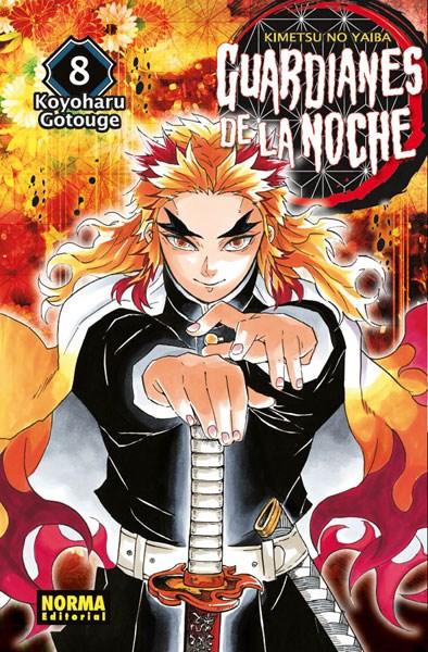 Manga Guardianes De La Noche 8