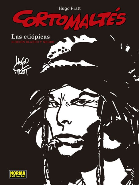 Comic Corto Maltes. Las Etiópicas (B/N)